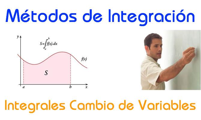 Métodos de Integración – Método de Sustitución